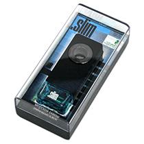 "SLMV-91 Ароматизатор на дефлектор "".SLIM"" морской сквош"