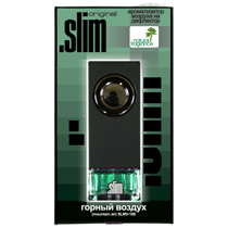 """SLMV-188 Ароматизатор на дефлектор """".SLIM"""" горный воздух"""