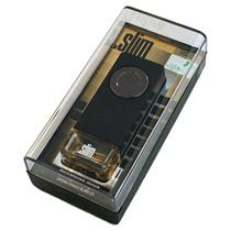 "SLMV-31 Ароматизатор на дефлектор "".SLIM"" янтарная луна"