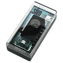 """SLMV-107 Ароматизатор на дефлектор """".SLIM"""" морская волна"""